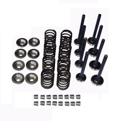 Kubota V1902 / V1702 Cylinder Head Valves Springs Retainers Valve Train - Bobcat - Quantico Cylinder Heads