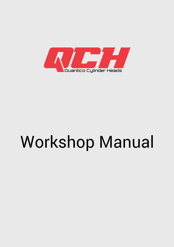 Isuzu 4J Series Engine Workshop Maintenance Service Repair Manual - Quantico Cylinder Heads