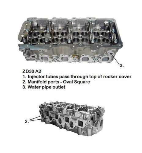Nissan ZD3A2 - Quantico Cylinder Heads