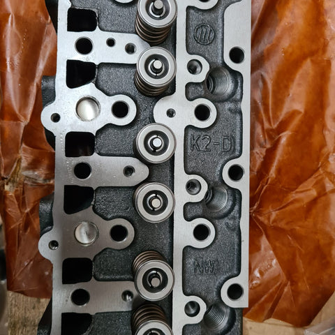 Kubota D1305 Cylinder Head - new loaded Toro Dingo FREE paypal /cards  usa free shipping