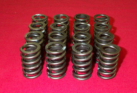 "SBC 350 V8 Chevy 1.44"" single /damper Valve Spring Retainers Locks  Overhaul Kit .600 Lift"