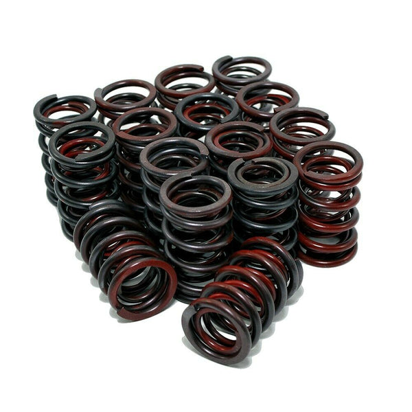 "SBC 350 V8 Chevy 1.44"" Dual Valve Spring Retainers Locks Overhaul Kit .600 Lift - Quantico Cylinder Heads"