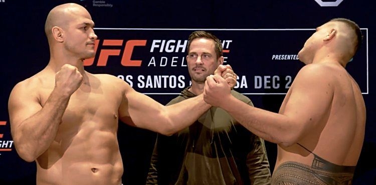UFC Fight Night: dos Santos vs. Tuivasa