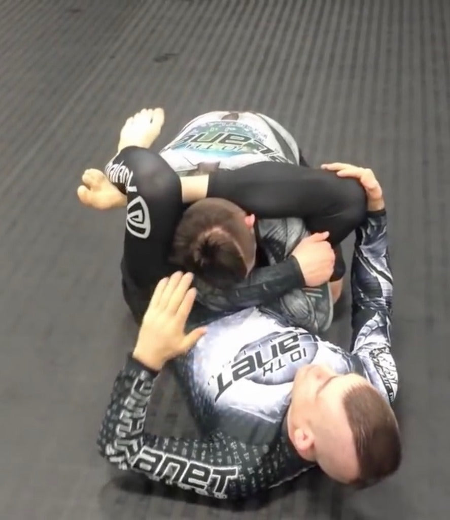 Defending the No Gi High Guard Armbar with Lachlan Giles