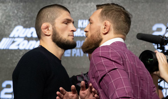 The King Of MMA Trash Talk Returns - McGregor and Khabib at UFC 229 Press Conference