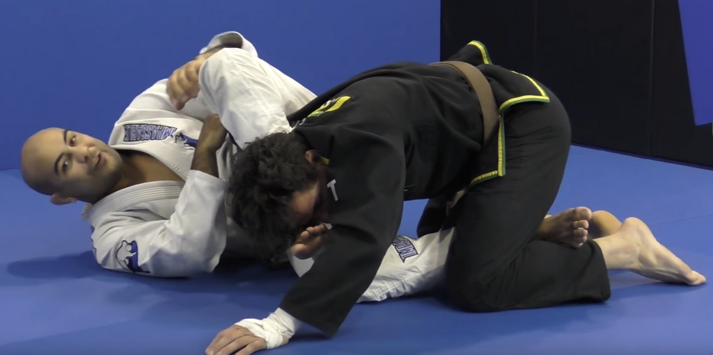Check Out This Slick Omoplata Against A Double Leg