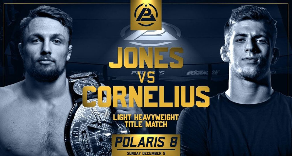 Keenan Cornelius and Craig Jones Super Fight at Polaris 8