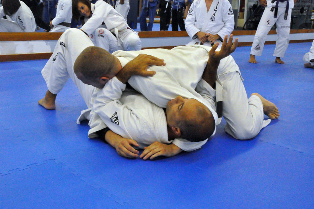 Three Chokes from Side Control