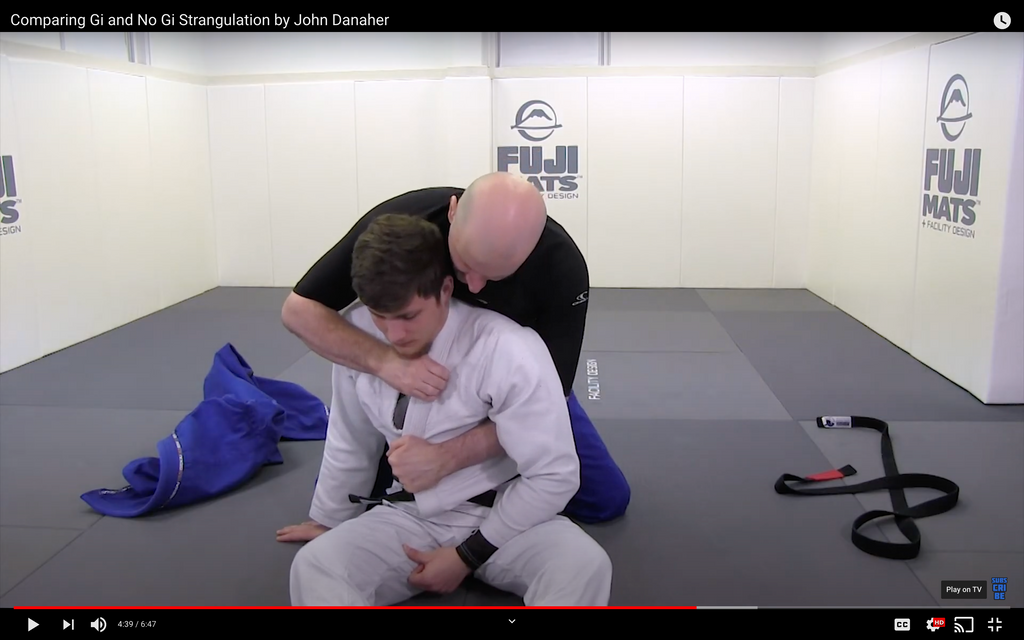 Comparing Gi and No Gi Strangulation by John Danaher