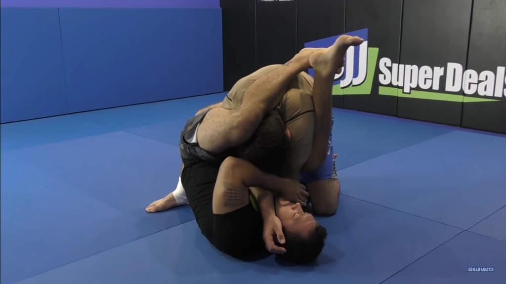 Don't Let The Stack Stop Your Armbar!