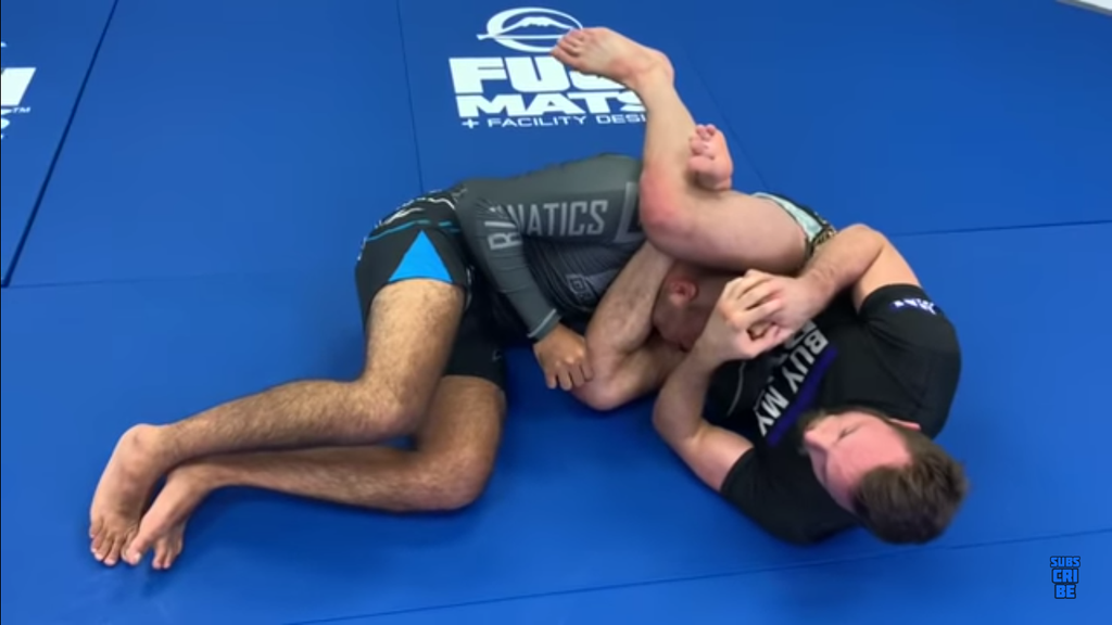 Craig Jones Teaches a Beautiful Mounted Triangle