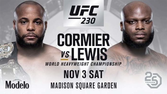 UFC 230 - Betting Odds and Predictions