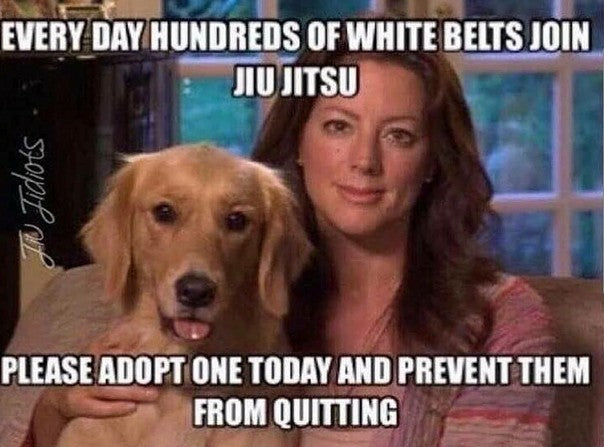 On Adopting The Over Looked White Belt