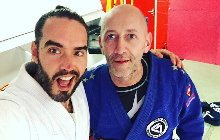 Russell Brand Describes the Benefits of BJJ