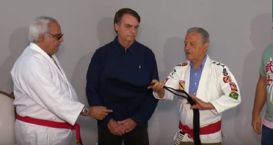 Presidential Candidate receives black belt: Has never trained BJJ
