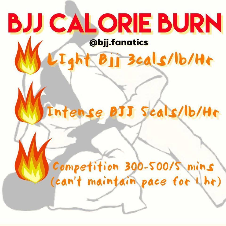 The Calorie Burning Capabilities of BJJ