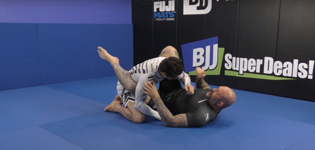 Getting Off The Center Line In Closed Guard By The Incomparable Neil Melanson