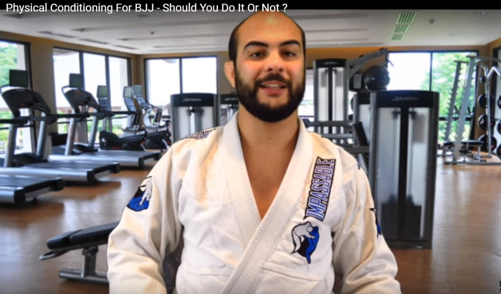 Does Physical Conditioning Off The Mat Gives An Advantage On The Mat?