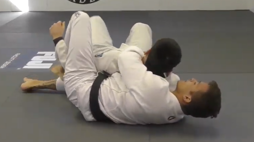 Master The Crucifix From Back With Alexandre Vieira