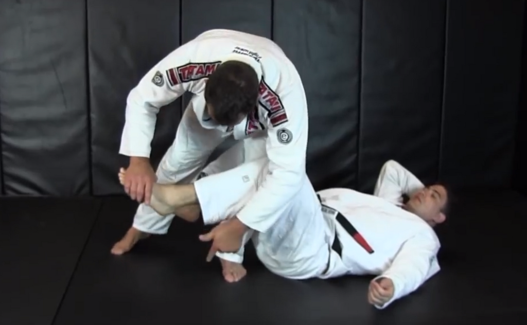 Dean Lister's Rolling Toe Hold From Open Guard