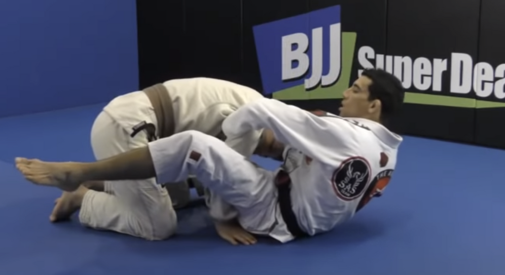 Getting Passed Via Double Under Control?  Stop It With This Triangle Choke