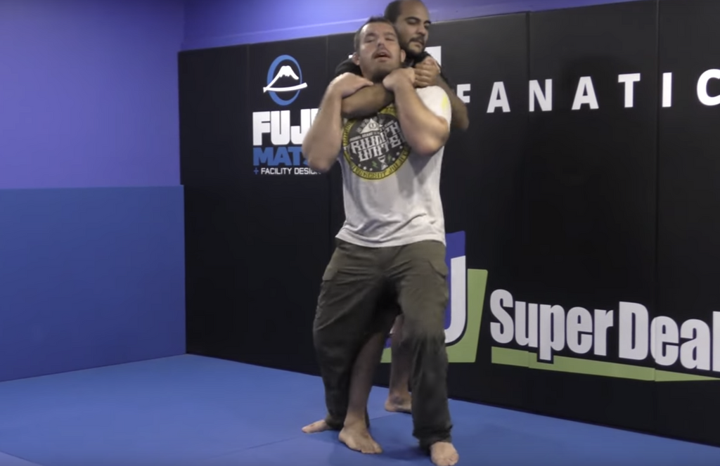 Self Defense: Escape the Standing Rear Naked Choke With Dean Lister