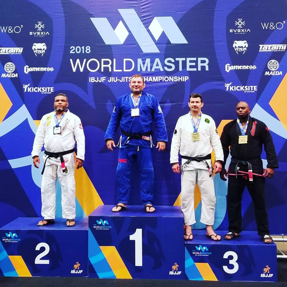Fabiano Scherner Claims Yet Another IBJJF Masters World Championship