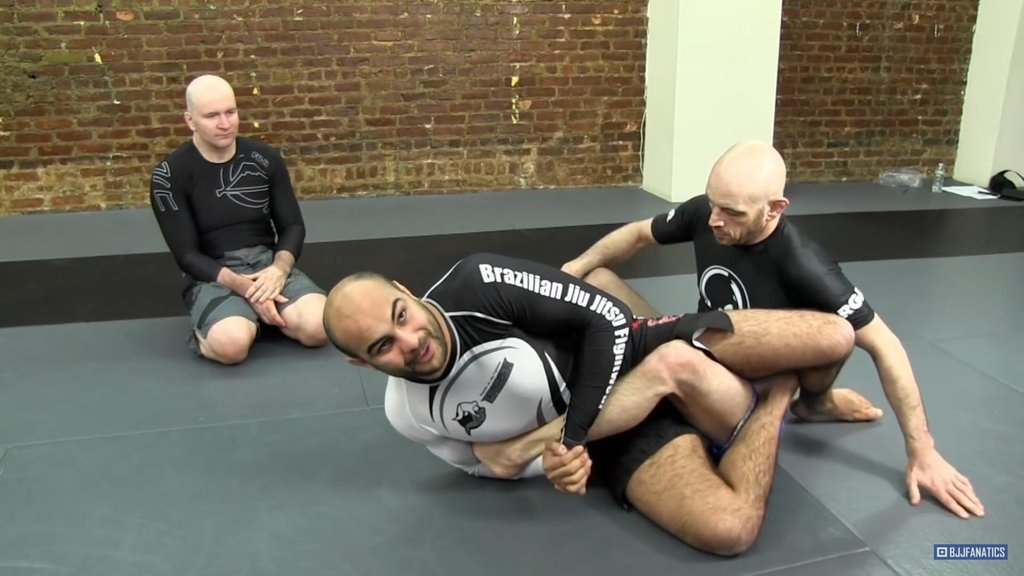 Two Easy Drills for Leg Locks