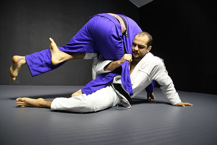 Add This Easy Half Guard Sweep to Your Game