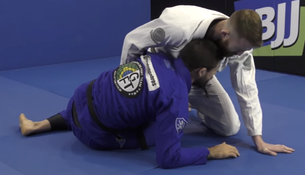 The Basic Half Guard Position That Prevents The Smash Pass