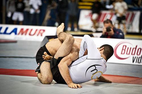 High Elbow Guillotine Success