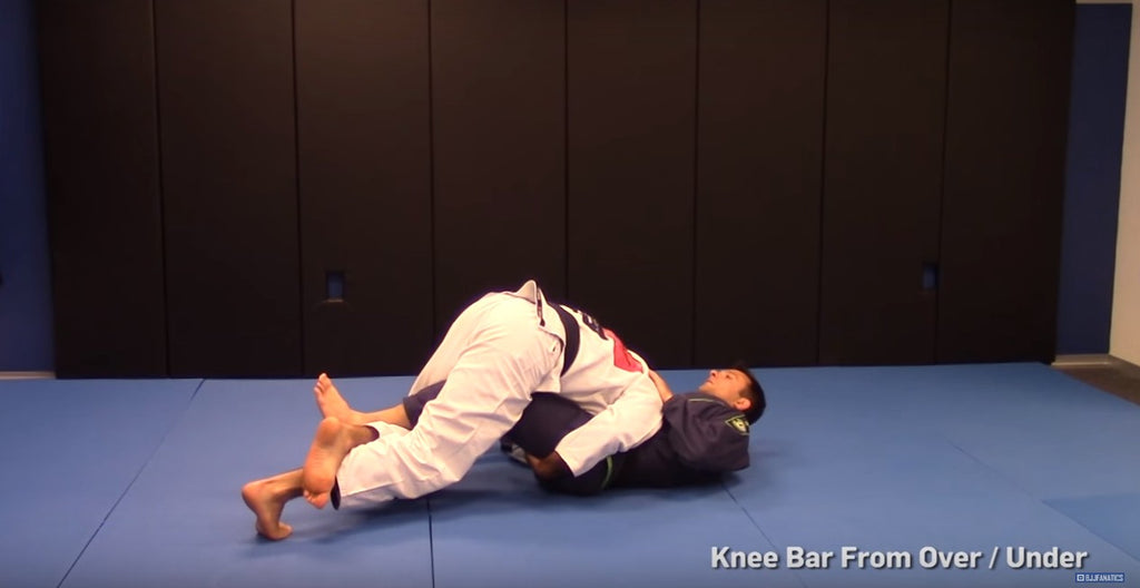 Have You Seen This Sneaky Knee Bar From The Incomparable Bernardo Faria?