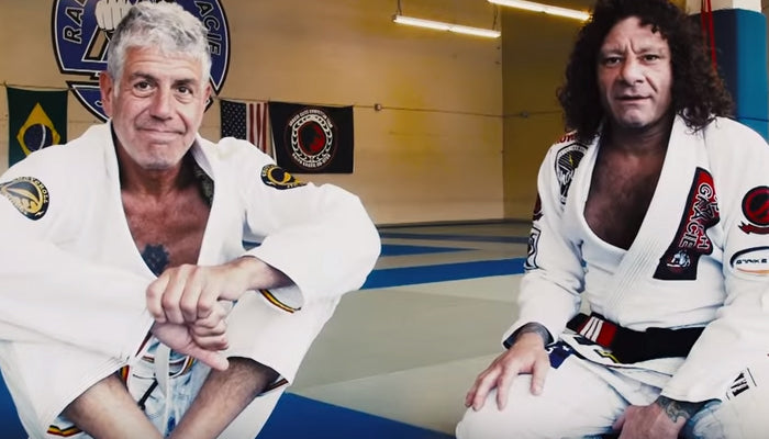 Kurt Osiander Lapel Choke Featuring Anthony Bourdain