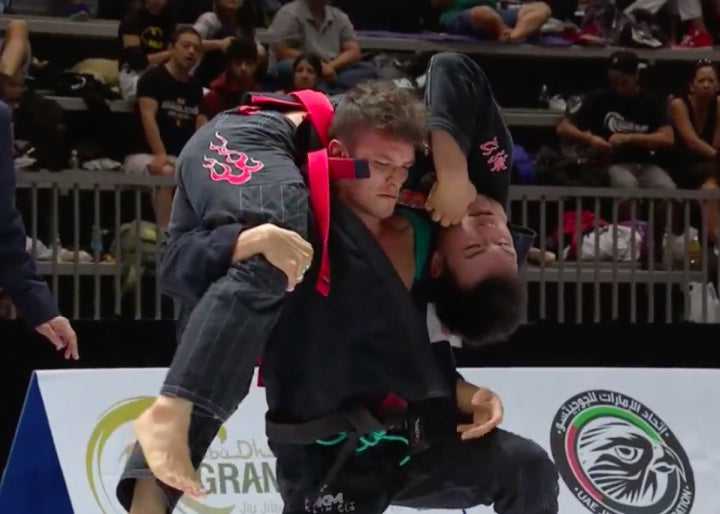 Loop Choke from Top Split Guard With Alexandre Vieira
