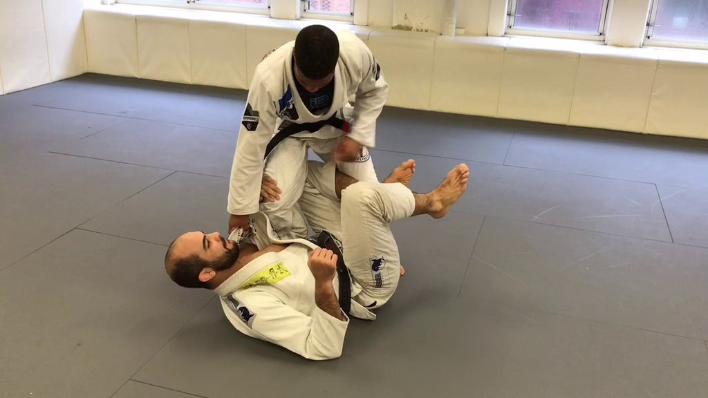 Entering the Legs with Reverse X-Guard