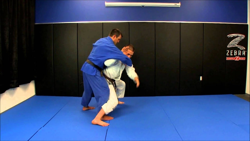 Slam Your Opponents To The Mat With The Tai Otoshi Judo Throw
