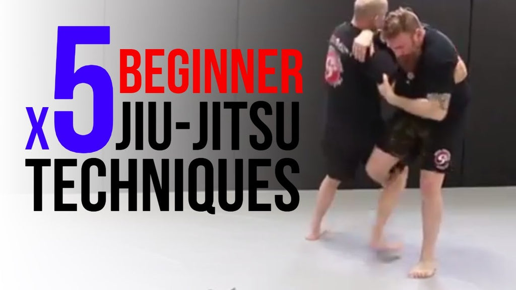 Top 5 Beginner Jiu Jitsu Techniques for Self Defense