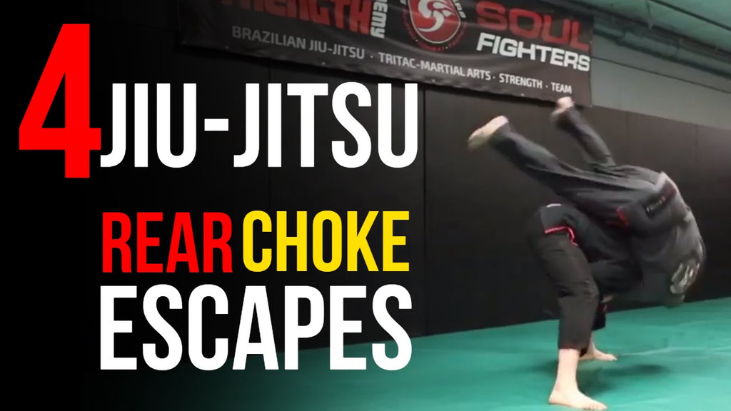 Top 4 Self-Defense Jiu-Jitsu Rear Choke Escapes