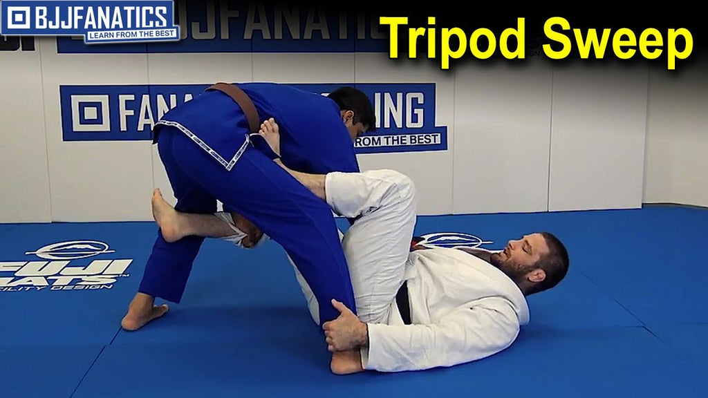 Travis Stevens Teaches the Tripod Sweep
