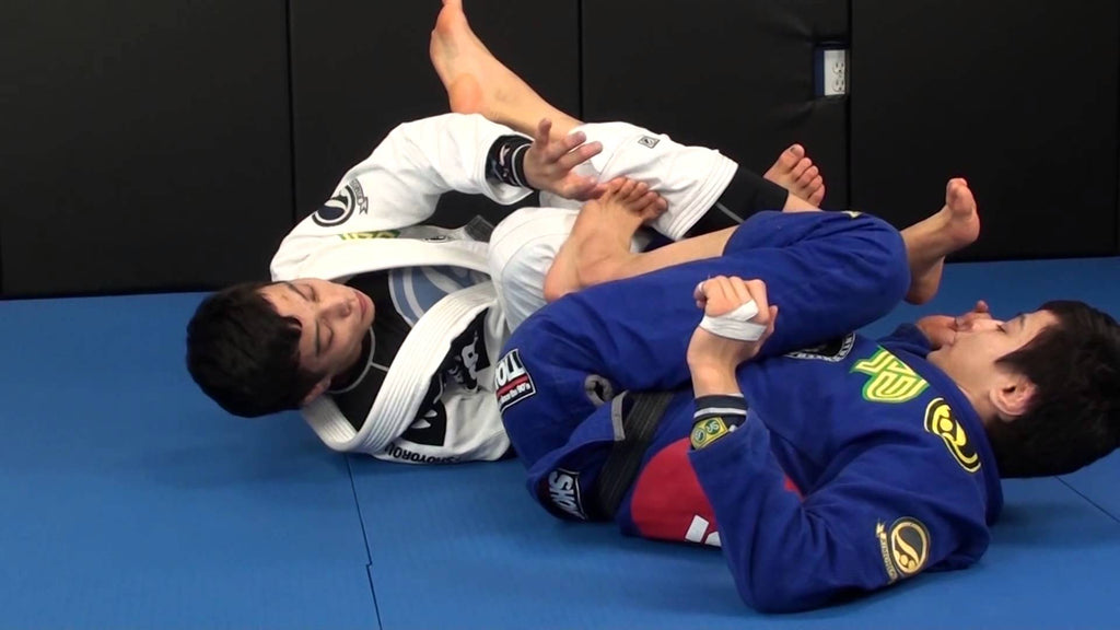 Ninja Armlock from Berimbolo by the Miyao Bros