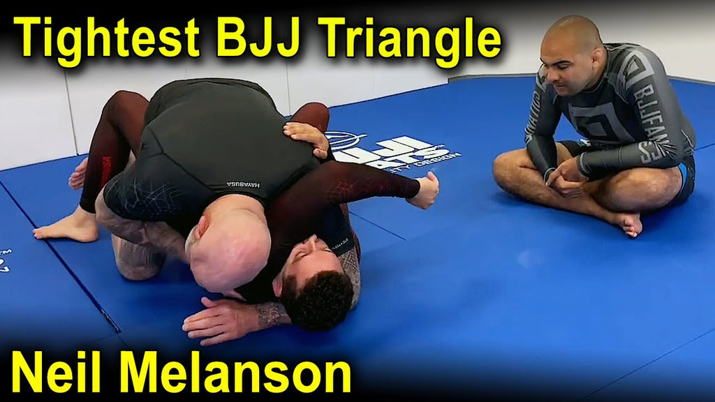 One Arm Head and Arm Choke with Neil Melanson