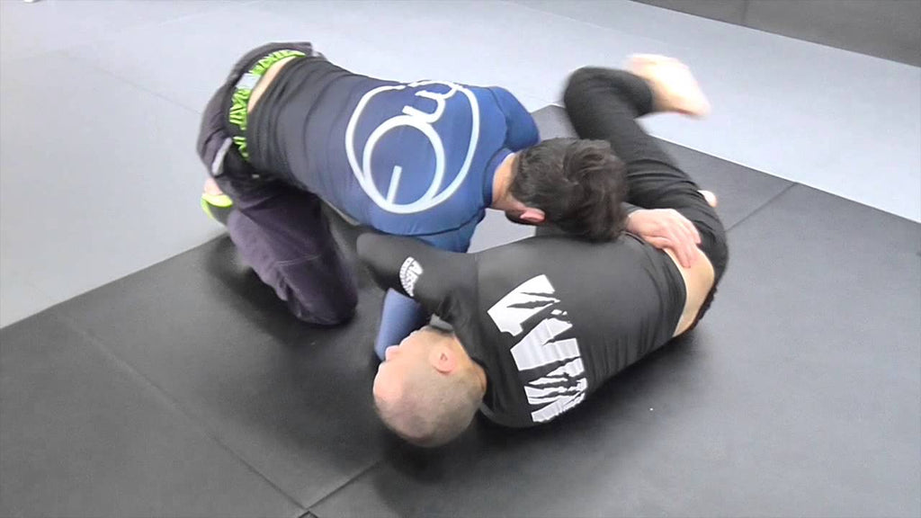 Half Guard Kimura Series from Lachlan Giles