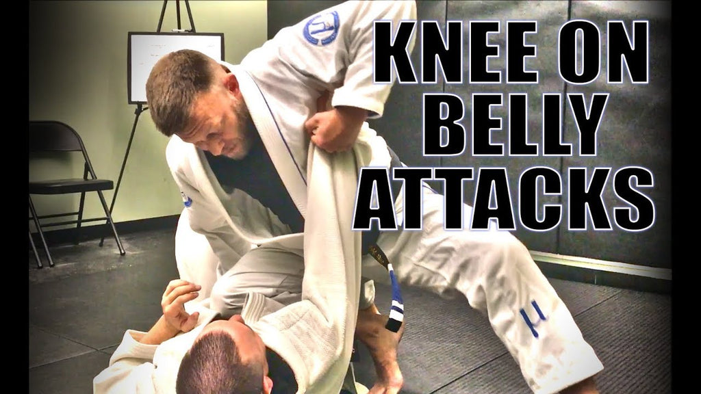 Force a Reaction from Knee on Belly that Will Allow you to Advance Towards Finishing: with Eli Knight