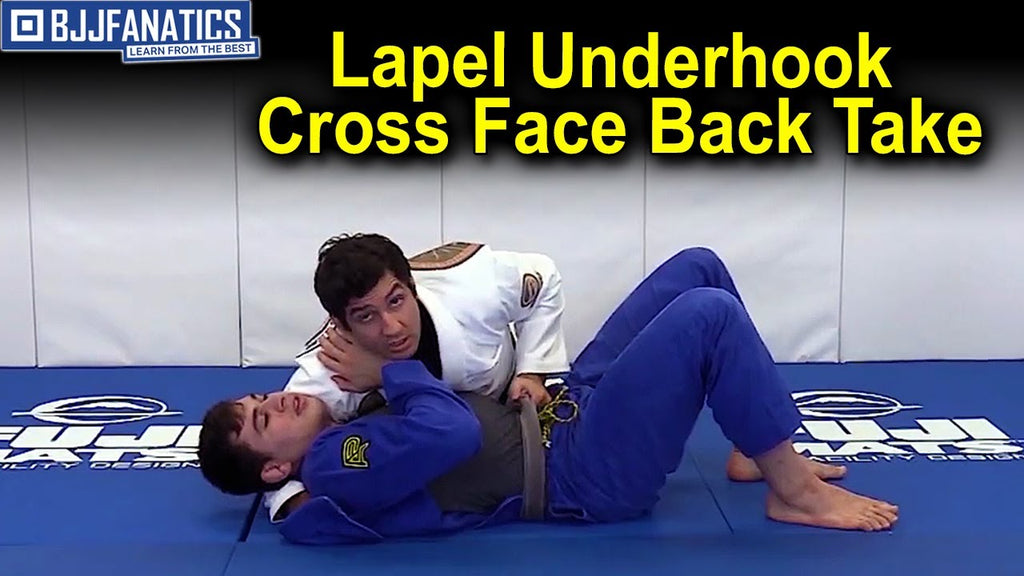 Precision Back Take From Side Control from Lucas Lepri