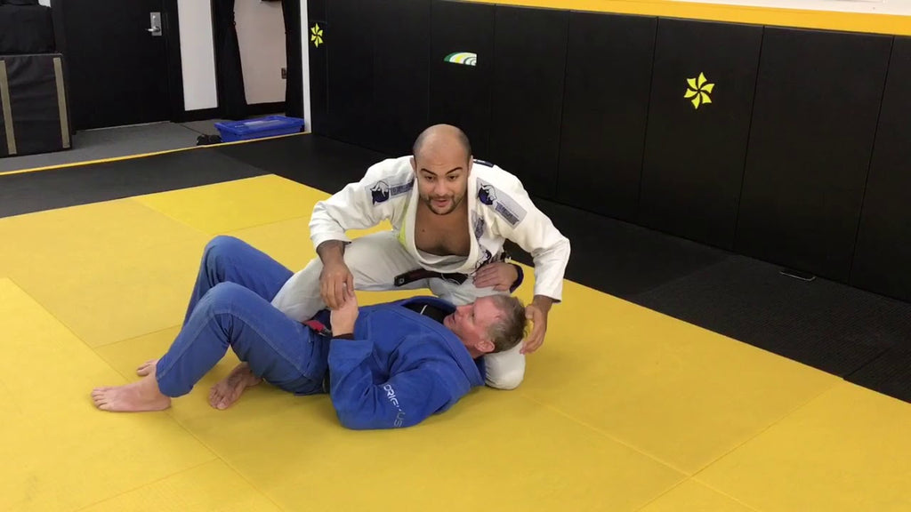 Unique Deep Half Guard Sweep They'll Never Stop