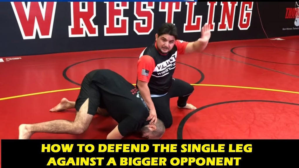 Amazing Single Leg Counter with Angel Cejudo