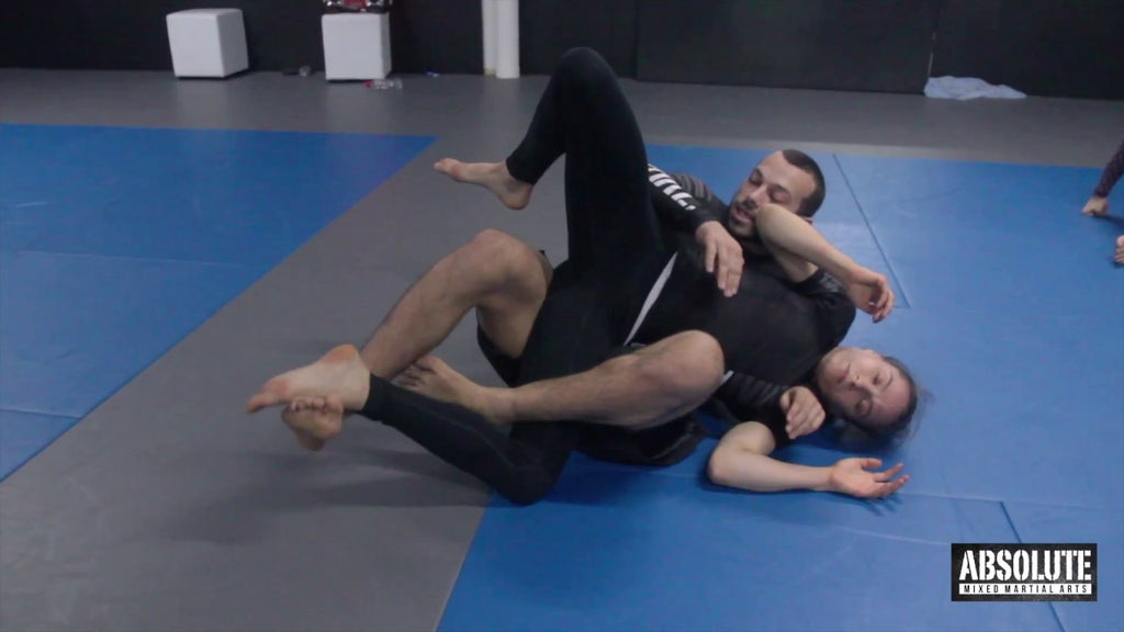 Freestyle Counter to Counter of the Rolling Back Take with Lachlan Giles