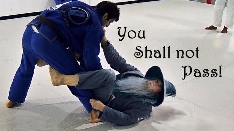 bjj how to pass guard