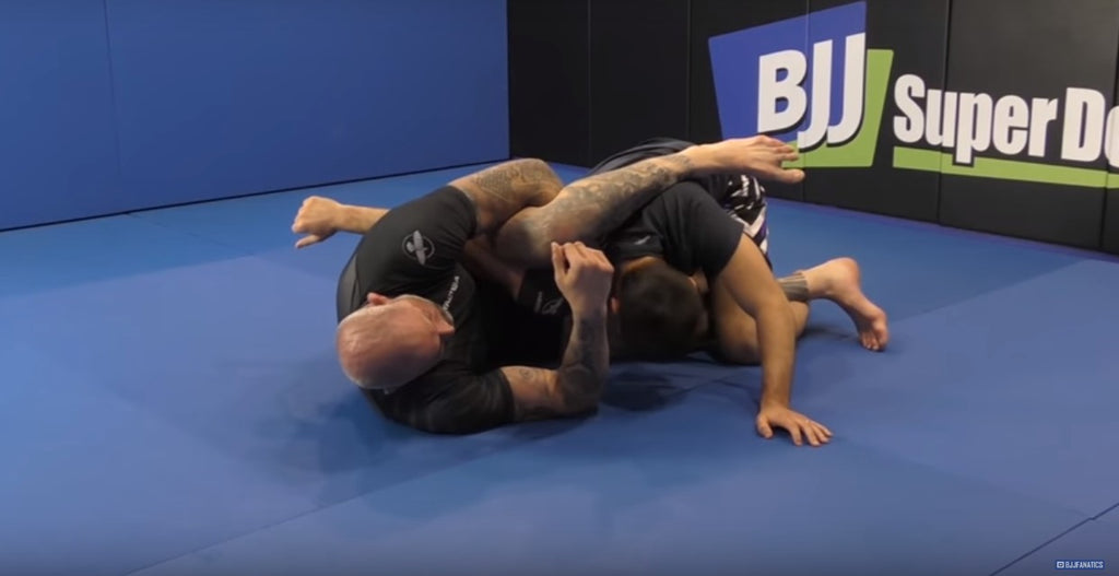 Shoulder Pin Arm Bar From The Mad Scientist of Grappling