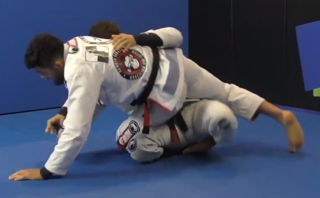 Slick Arm Drag to Sit Up Sweep to Arm Bar Flow by Renato Canuto